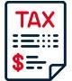 Tax paper icon